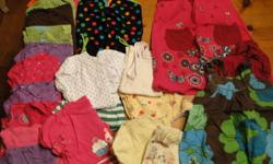 Size 3T Summer Clothes $60 for the lot or priced individually $2 each 11 t-shirts ? 10 from TCP various patterns and plain shirts $4 Joe Fresh poka dot bathing suit $2 each 6 shorts ? 4 TCP, 1 Gymboree (jean embroidered) $2 each 2 skorts from TCP $5 each