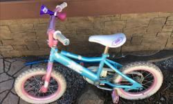 """12"""" and 14"""" Girls Bikes In excellent condition $40 each"""