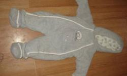little girls size 12 mths coat for sale..not a winter coat..asking $20 snowsuit size 6 mths..asking $10