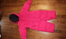 Excellent condition.GAP girls snow suit. From a smoke free home. This ad was posted with the Kijiji Classifieds app.