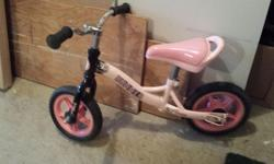 Our daughter has outgrown her run bike. It's it excellent condition. Come have a look