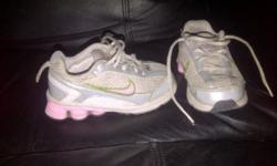 girls size 7.5 pink and silver NIKE shox $15 for first pair $10 for the other pair great condition located in shearwater but travel to halifax smoke free home
