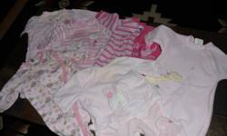 6-9 Month sleepers. Qty 6 lot set. Harley Davidson,Disney,Teddys choice