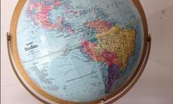 World globe, excellent shape