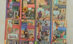"""16 volume set of 1959 Golden Book Encyclopedias plus 6 volumes of supplimentary World Atlas. In good condition overall (two volumes have cellophane peeling from covers). The knowledge in these books would have got you an """"A"""" in grade 3 geography back in"""