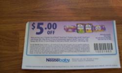 I have an unopened can of Nestle Good Start powder formula (340g) and 7 bottles(30ml each) of ready to use formula. My son did not want to eat this formula. I also have a $5 off coupon. I am asking $15 or best offer.