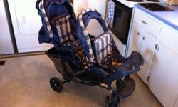 Duo glider double stroller. Can deliver to Brandon or shilo. This ad was posted with the Kijiji Classifieds app.