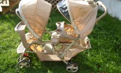 Graco duo glider double stroller great condition no stains or tears. Compatable with any graco infant carseat. Cleaned and ready to go! must sell asap dont have the room to store it. E-mail me if interested