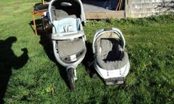 This travel stroller system is approx. $320 before tax, new. My parents bought it for us when we had our child. They bought it from Sears. It is easy to use, folds up easily to travel, sturdy, etc...