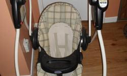 We bought this swing used for $60 when we found out we were expecting. We just received one from the baby shower and we have no need for two. Looking at getting the same that we paid. It is in good condition thanks