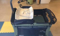 Like Brand new. Retails for around $225.00 New Asking $150.00 OBO   Graco's Pack 'n Play  provides everything you need to create a comfortable, caring environment for your baby. - Removable bassinet that provides a comfy space for baby to nap, at home or