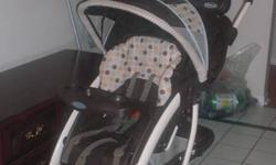 Used for one year, perfect working order, clean, smoke-free. Infant carseat can be bought separately. Will deliver in Halifax area.