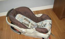 Graco Safe Seat with base.  Rated 5-30lbs.  Excellent condition.  Expiry date of Dec 2012.