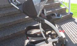 In excellent condition.  This stroller was used with one child.  From a smoke-free home.  Purchased from Sears.