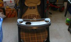 For sale.  Graco stroller.  Works with Graco infant car seat, not included.  Great condition!