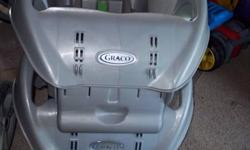 Excellent Condition Graco Stroller with carseat and 2 bases , carseat good till 2013  Noahs Ark print $175.00 can meet in belleville or napanee