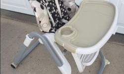 Graco - TableFit High Chair Model H220 Very good condition - used at Grandparents place once a month for about 20 months in total. For children up to 3 years old, up to 40 lbs. *Unique high chair design truly slides right up to the table! *8 height