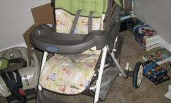 Graco Whinnie the Pooh Stroller & Carseat. Used Maybe 4 Times. $120. Clean, No Pets/From Smoke Free Home. You can email me if interested or have any questions