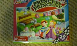 "Grafix Princess Puzzle- 30 Pieces 10.6"" x 7.1"" 30 Pieces Teaches problem solving, imaginative play & hand/eye coordination Located in Barrhaven"