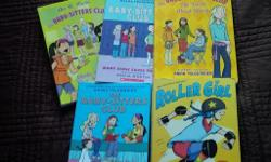 5 graphic novels --- 4 of them are babysitter club books (#1-4) and Roller Girl. Each book new costs between 12 and $15 plus taxes. Books are in mint condition. Perfect for girls ages 8-12.