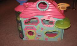 LITLELEST PET SHOP BIG HOUSE PAID $60.00 LITLELEST PETSHOP VITERINARY PAID $25.00 PERFECT CONDITION! GREAT DEAL!!!!!!!!