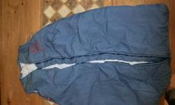 I have two grobags for sale, the jeans Grobag is a 2.5 tog (very warm) asking $10, the Tractor Grobag is 1.0 tog (light) also asking $10. Both sleeping bags are in great condition and fit a newborn up to 6 months, however my son fit the Tractor Grobag