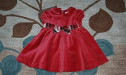 I have a few beautiful Christmas dresses for sale, both made by Gymboree. Both dresses are fully lined, beautiful quality, in like new condition. Red velvet dress is in Excellent Used Condition (EUC), size 3-6 months. Worn once for about 2 hours. $20 Plum