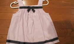 Like new Gymboree violet halter top with navy ribbons.  Size 2T.  From smoke free home; see sellers' other ads.