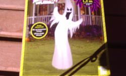 We have 2 light up blow up halloween decoration atall, a cat 4 ft and a frankenstine all in working order $10.00 each