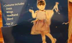 Cute fairy costume or play dress clothes      size 2T    new in package