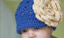 I make a variety of handmade crocheted hats and accessories. They make great gifts for baby showers, birthdays and Christmas. They also make great photo props. All hats are made to order and my current turnaround time is approximately two weeks to
