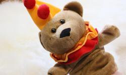 VERY CUTE BROWN BEAR HAND PUPPET non smoking home