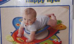 Great way to get your baby to have some tummy time.  Can also be used as just a play mat.