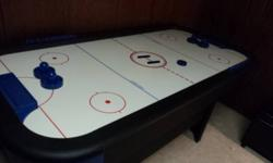 Harvard Air Hockey table, playing surface 30 x 66, excellent condition. $100 OBO