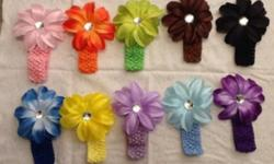 Cute crochet headbands Size newborn and up A lot of colors, Christmas headbands This ad was posted with the Kijiji Classifieds app.