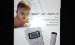 HI-bebe Fetal Monitor / Doppler Bistos Co Ltd Fetal doppler with carrying case and ultrasound transmission gel. Hear your baby just like at the doctor's office!!!! It is very reassuring (and fun) to hear baby's heartbeat. In excellent used condition. Pick