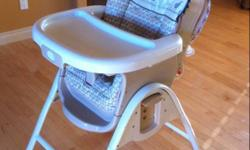 Smart solutions newborn-toddler highchair. Convert from newborn seat to high chair mode (see pics). Very clean and completely intact. This ad was posted with the Kijiji Classifieds app.