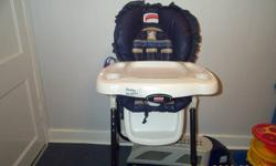 Infant feeding chair with wheels call me at 519-992-4478