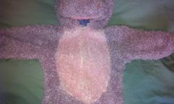 Size small from a pet and smoke free home. Warm suit with hippo head and tail, good for dress up, out doors playing or costume. Zipper to open for easy access This ad was posted with the Kijiji Classifieds app.