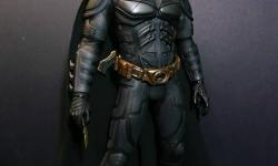 I am selling a Hot Toys Batman Dark Knight Costume Collectible. It has only ever been taken out of the box once and looked at, and since then has been in its box. So everything including the box  is in Mint Condition. I bought it online 2 years ago and