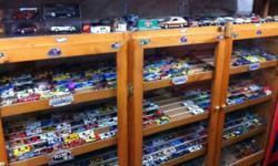 Car collection, over 3000, for sale. Hot wheels, Johnny lightning, ertl, foose, jada, majorette, and more. Cars, trucks, farm equipment, construction equipment, planes, and more. Priced $1ea, $5ea, and a few $15-$20. Call Don @ 613-394-0455. 6-9pm This ad