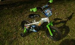 bought our son a Buzz lightyear bike for his 4th birthday, he prefers to use his old bike, Hotwheels  Brand new condition. Never used