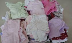 Huge Lot of girl clothing in Newborn, 0-3 months and 0-6 months. Literally everything you will need including clothes, shoes, hats, bibs, blankets, snowsuits, swimsuits, swaddle blanket, sleep sack, etc. Old Navy, Gymboree, Children's Place, Peekle,