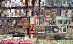 I have for sale a large selection of toys and action figures including g1 transformers. figures are located at p market buy and sell on 109 north front street belleville. 613 962 6959 email or stop by if intrested.
