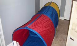 """Ikea Murmel tunnel for sale. 6' 4"""" long, 2' high. Hours of fun for the little ones. Only $20. We are located in Orleans. See our list of other items for sale. First come, first served."""
