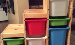 """IKEA Trofast Storage Unit 37"""" wide by 17 1/2"""" deep by 36"""" high Great condition See link for more details http://www.ikea.com/ca/en/catalog/products/S89102095/ No holds Maple Ridge pick up"""