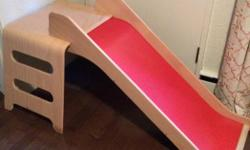 Children's indoor slide. Originally from Ikea. Purchased recently on usedregina, but it is too large for the space we intended. Works really well and in very good shape. Easy to put together and very sturdy.