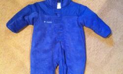 24 month, boys, 1 piece snowsuit. Excellent condition. Has the fold over foot and hand covers. This ad was posted with the Kijiji Classifieds app.