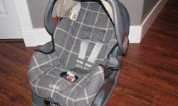 Graco Infant Car Seat with adjustable base, level, harness, in great shape!! 20.00 Celina 934-5178