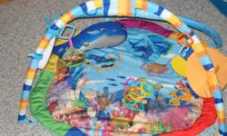 Selling Baby Einstein Ocean Adventure Gym - Great Used Condition Missing a few of the hanging toys but everything else is great!  Has attachment that plays music and lights up.   Asking $30.00 OBO